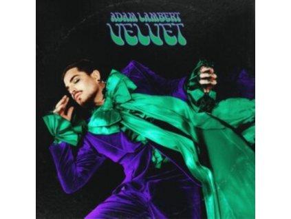 ADAM LAMBERT - Velvet (Purple/Green Vinyl) (LP)
