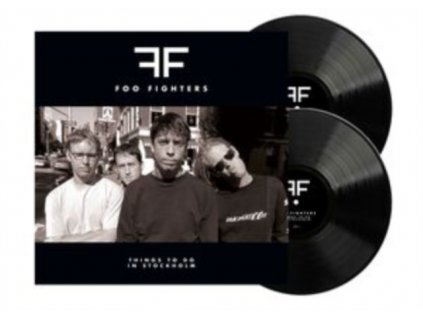 FOO FIGHTERS - Things To Do In Stockholm (LP)