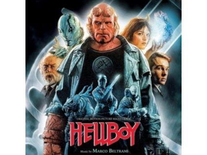 ORIGINAL SOUNDTRACK / MARCO BELTRAMI - Hellboy (Red Vinyl) (LP)