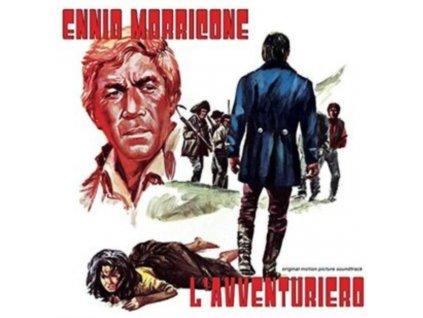 ENNIO MORRICONE - LAvventuriero (LP)