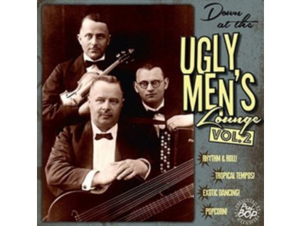 """VARIOUS ARTISTS - Down At The Ugly MenS Lounge Vol.2 (10 + CD"""" Vinyl)"""
