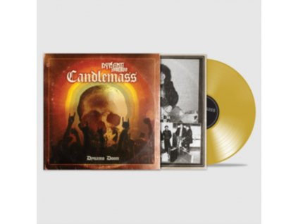 CANDLEMASS - Dynamo Doom (Gold Vinyl) (LP)