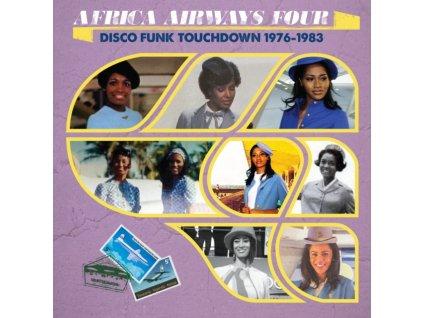 VARIOUS ARTISTS - Africa Airways Four (Disco Funk Touchdown - 1976 - 1983) (LP)