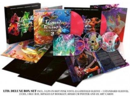 LIQUID TENSION EXPERIMENT - Lte3 (Deluxe Opaque Hot Pink Vinyl) (LP + CD)