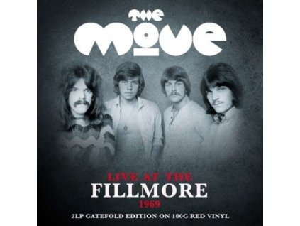 MOVE - Live At The Fillmore 1969 (Red Vinyl) (LP)