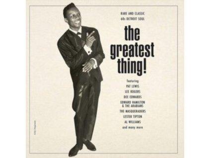 VARIOUS ARTISTS - The Greatest Thing (LP)