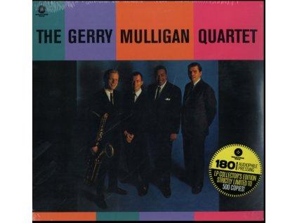 GERRY MULLIGAN QUARTET - The Gerry Mulligan Quartet (Feat. Bob Brookmeyer. Bill Crow. Gus Johnson) (LP)