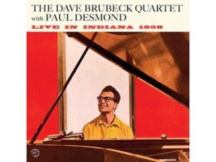 DAVE BRUBECK QUARTET - Live In Indiana 1958 (Feat. Paul Desmond) (+1 Bonus Track) (LP)