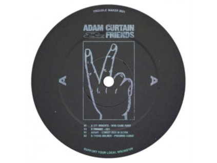 "ADAM CURTAIN - Adam Curtain & Friends (12"" Vinyl)"