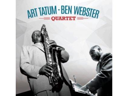 ART TATUM & BEN WEBSTER - Art Tatum & Ben Webster Quartet (+2 Bonus Tracks) (Transparent Red Vinyl) (LP)