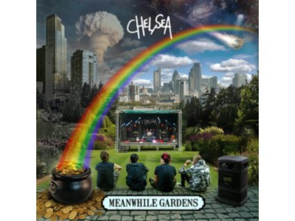 CHELSEA - Meanwhile Gardens (Blue Vinyl) (LP)