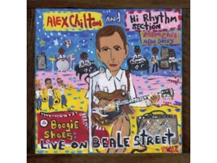 ALEX CHILTON AND HI RHYTHM SECTION - Boogie Shoes: Live On Beale Street (LP)