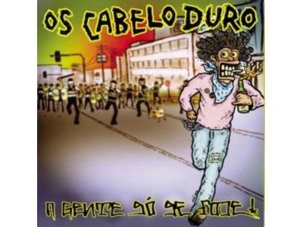 OS CABELO DURO - A Gente So Se Fode (Transparent Yellow Vinyl) (LP)