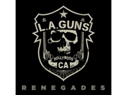 LA GUNS - Renegades (Red Transparent Vinyl) (LP)