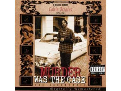 ORIGINAL SOUNDTRACK - Murder Was The Case (Explicit Version) (CD)