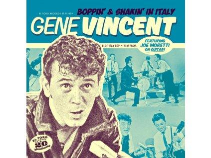 "GENE VINCENT - Boppin & Shakin In Italy (7"" Vinyl)"