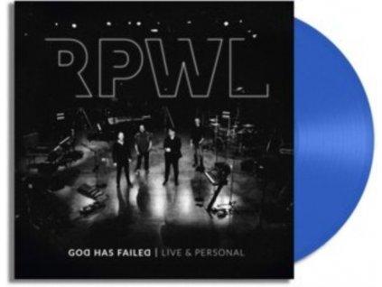 RPWL - God Has Failed - Live & Personal (Blue Vinyl) (LP)