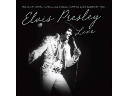 ELVIS PRESLEY - Live In (White Vinyl) (LP)