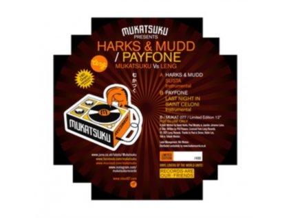 "HARKS. MUDD & PAYFONE - Mukatsuku Vs Leng: The Balearic Edition (12"" Vinyl)"