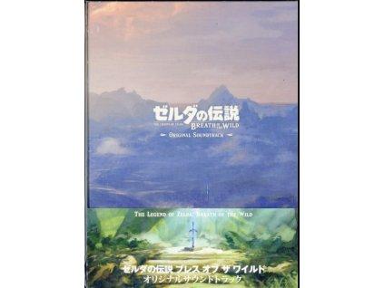 ORIGINAL GAME SOUNDTRACK - Legend Of Zelda Breath Of The Wild (CD)