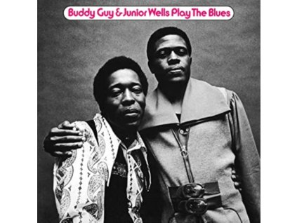 BUDDY GUY & JUNIOR WELLS - Play The Blues (Feat. Eric Clapton) (Anniversary Edition) (Translucent Blue Vinyl) (LP)