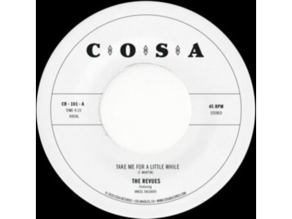 """REVUES - Take Me For A Little While (7"""" Vinyl)"""