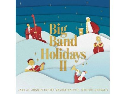 JAZZ AT LINCOLN CENTER ORCHESTRA & WYNTON MARSALIS - Big Band Holidays II (LP)