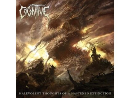 COGNITIVE - Malevolent Thoughts Of A Hastened Extinction (LP)