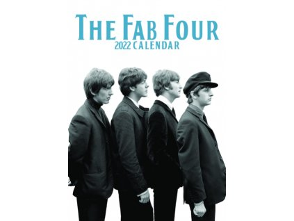 beatles a3 kalendář 2022