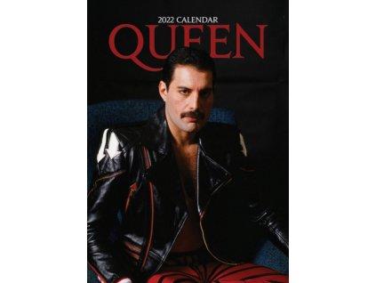 queen a3 kalendář 2022