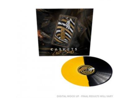 CASKETS - Lost Souls (Yellow/Black Vinyl) (LP)