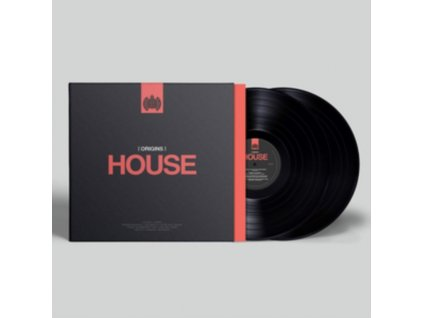 VARIOUS ARTISTS - Ministry Of Sound - Origins Of House (LP)