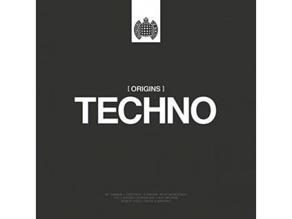 VARIOUS ARTISTS - Ministry Of Sound - Origins Of Techno (LP)
