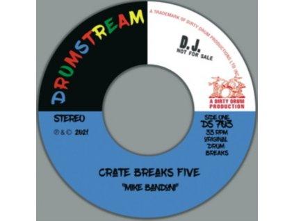 "MIKE BANDONI - Crate Breaks Vol. 3 (Mike Bandoni) (7"" Vinyl)"