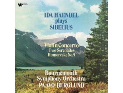 IDA HAENDEL / PAAVO BERGLUND - Sibelius: Violin Concerto. 2 Serenades (LP)