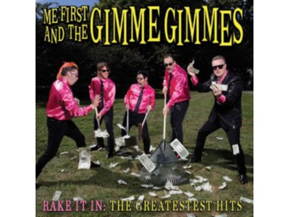 ME FIRST AND THE GIMME GIMMES - Rake It In The Greatest Hits (LP)