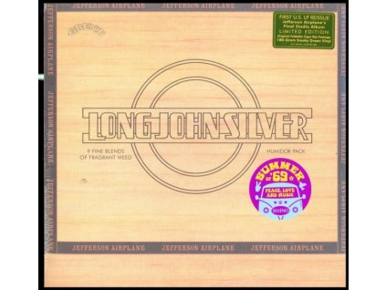 JEFFERSON AIRPLANE - Long John Silver (Summer Of 69) (LP)