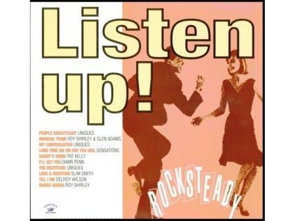 VARIOUS ARTISTS - Listen Up! - Rocksteady (LP)