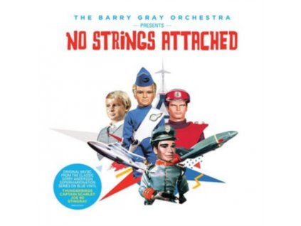 """BARRY GRAY ORCHESTRA - No Strings Attached (RSD 2018) (10"""" Vinyl)"""