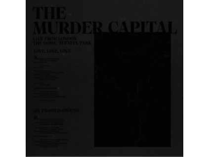 """MURDER CAPITAL - Live From London: The Dome. Tufnell Park (Rsd 2020) (12"""" Vinyl)"""