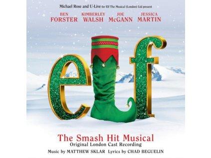 ELF ORIGINAL LONDON CAST - Elf The Musical (CD)