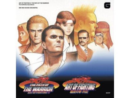 SNK NEO SOUND ORCHESTRA - Art Of Fighting Volume 3 - Path Of The Warrior - The Definitive Soundtrack (Grey/Orange Vinyl) (LP)