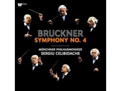 SERGIU CELIBIDACHE / MUNCHNER PHILHARMONIKER - Bruckner: Symphony No. 4 (LP)