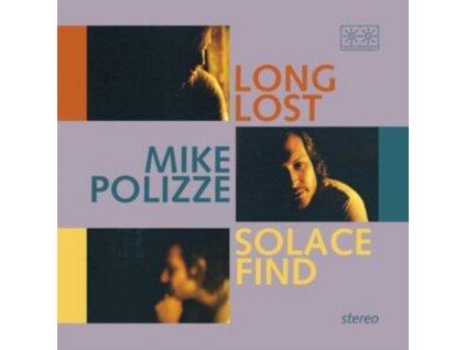 MIKE POLIZZE - Long Lost Solace Find (Transparent Blue Vinyl) (LP)
