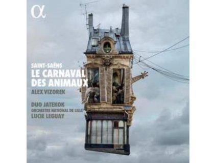DUO JATEKOK / ORCHESTRE NATIONAL DE LILLE / LUCIE LEGUAY / ALEX VIZOREK - Saint-Saens: Le Carnaval Des Animaux (LP)