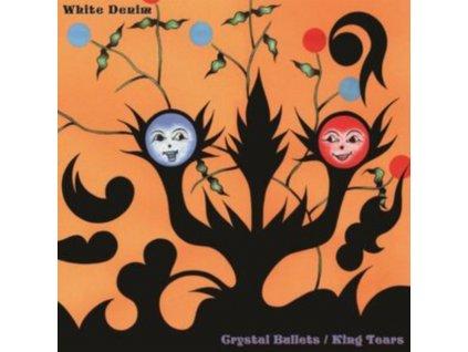 WHITE DENIM - Crystal Bullets B/W Kings Tears (Orange & Black Colour) (LP)