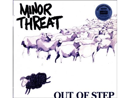 """MINOR THREAT - Out Of Step (12"""" Vinyl)"""