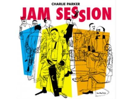 CHARLIE PARKER - Jam Session (Blue Vinyl) (LP)