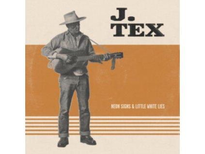 J.TEX - Neon Signs & Little White Lies (Orange Vinyl) (LP)