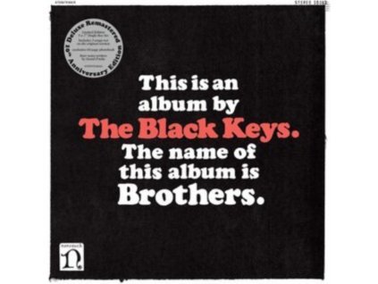 "BLACK KEYS - Brothers (Deluxe Remastered Anniversary Edition) (7 Box Set"" Vinyl)"